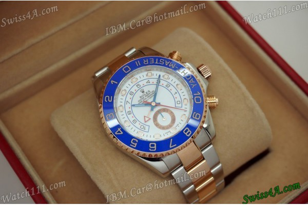 ROLYM0018E-Replica Rolex  M116681-0001 Yachtmaster II 44mm White Automatic Man Watch